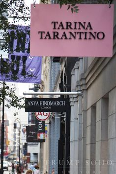 #SoHo is lined with boutique shops as well. It's great for discovering new fashion and restaurants.