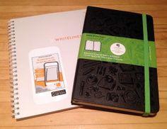 Digital Notebooks from Moleskine and Whitelines | FLAX art & design
