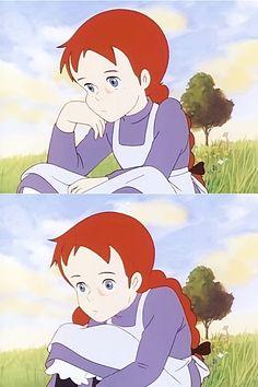 Akage no Anne Old Anime, Anime Art, Cartoon Art, Cartoon Characters, Anne Shirley, Chronicles Of Narnia, Hallmark Movies, Old Cartoons, Cute Cartoon Wallpapers
