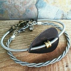 Hey, check out what I'm selling with Sello: guitar string bracelet set unisex http://j-and-t-creations.sello.com/shares/dznY2