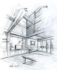 SITEMAP l 手描きパースの描き方ブログ、パース講座(手書きパース)
