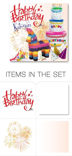 """""""34.Happy 7th Birthday, Kaly!"""" by milva-bg ❤ liked on Polyvore featuring art"""