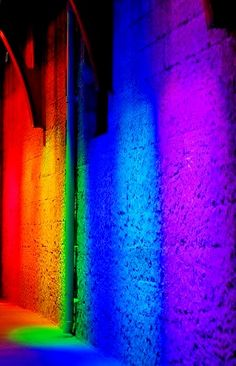 Rainbow Color Wall