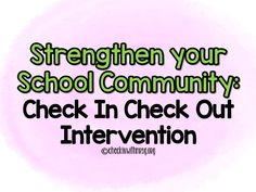 Use the check in check out intervention to improve the sense of community in your school! Make sure all students feel supported and develop relationships between students and teachers. The best proactive classroom management strategy! Life Skills Classroom, Teaching Social Skills, Teaching Resources, Classroom Management Strategies, Student Behavior, School Community, Student Reading, Upper Elementary, Rock Stars