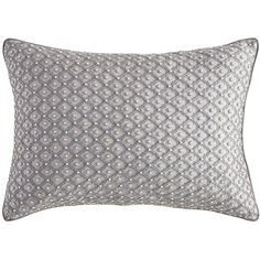Pier 1 Imports Silver French Fleur Beaded Lumbar Pillow (36 CAD) ❤ liked on Polyvore featuring home, home decor, throw pillows, silver, pier 1 imports, french throw pillows, lumbar throw pillow, grey accent pillows and silver accent pillows