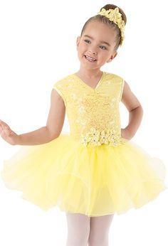 Weissman™   Sequin Tulle Curly Hem Dress