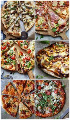 Mat På Bordet | 6 gode pizzaoppskrifter - Mat På Bordet Norwegian Food, Norwegian Recipes, Recipe Boards, Falafel, Apple Pie, Vegetable Pizza, Tapas, Good Food, Food And Drink
