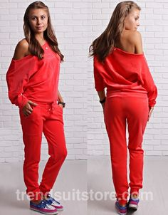#velour #sweatsuit Fashion ladies velour sweatsuit