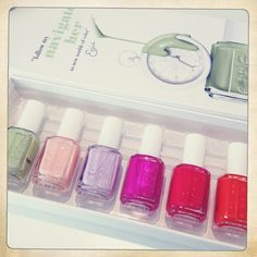 You can never get enough of Essie World Of Color, Essie, Hair Beauty, Nail Polish, Girly, Nail Art, Colours, Nails, Spring