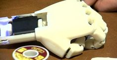 3ders.org - 7-year-old girl receives new 3D printed custom-made bionic arm | 3D Printer News & 3D Printing News