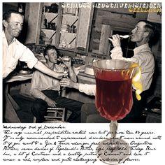 December 3rd: The Seelbach Cocktail