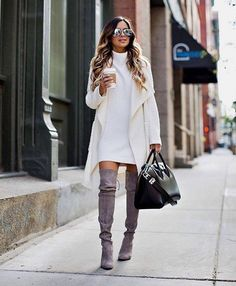 Fabulous Ways To Style a  Sweater This Season