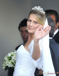 Tatiana Blatnik married Prince Nikolaos of Greece on 25 August 2010