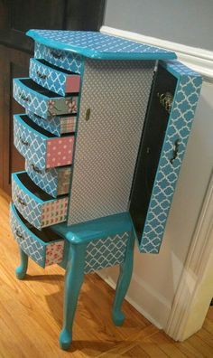 Gorgeous! Jewelry Box Makeover, Furniture Redo, Diy And Crafts, Chair, Design, Home Decor, Furniture Makeover, Decoration Home, Room Decor