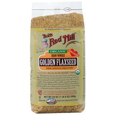 Bob's Red Mill, Organic, Golden Flaxseed, 24 oz (680 g) New to iHerb? Use coupon code NWB338