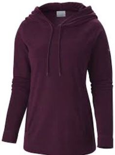 7c21aabba690e Columbia Womens Glacial Fleece III Hoodie Purple Dahlia Size Small  fashion   clothing  shoes
