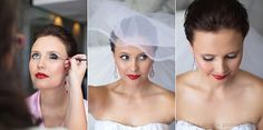I like this three shot series to capture the preparation morning of the wedding.