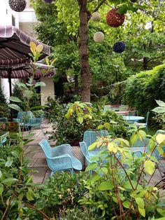 Really cosy urban garden