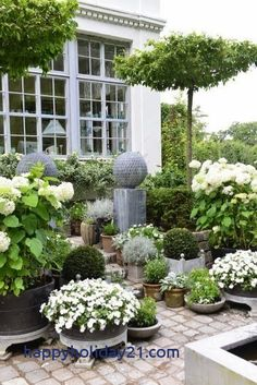 Green and White Garden Ideas 34