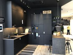First IKEA 'Planning Studio' Opens on Tottenham Court Road Ikea Design, Kitchen Display, Kitchens And Bedrooms, Home Hardware, Large Homes, Bedroom Storage, Home Projects, Home Improvement, Kitchen Cabinets