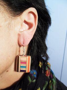 COLOR EARRINGS orecchini colorati di Bluannebag su Etsy https://www.etsy.com/it/shop/Bluannebag?ref=hdr_shop_menu