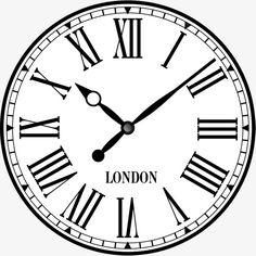 Clock Face Tattoo, Broken Clock Tattoo, Clock Tattoo Design, Clock Clipart, Compass Design, Diy Clock, Baby Tattoos, Grey Tattoo, Circle Pattern