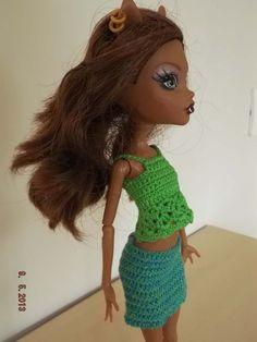 conjunto 2 piezas de crochet top y falda. Hecho a mano.