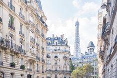 Paris Photography Under Paris Skies Eiffel by GeorgiannaLane