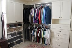 White Shaker closet Space Place, Custom Closets, Storage Solutions, Your Space, Custom Design, Personal Style, House Ideas, Stylish, Home Decor