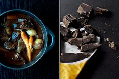 Slow braised beef with chocolate and mustard recipe from Fisher & Paykel Social Kitchen