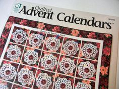Quilted Advent Calendar Book: Wonderful Count by TheSandlapperShop