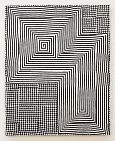 nicecollection:  Samantha Bittman - Untitled, 2015, Acrylic on handwoven textile