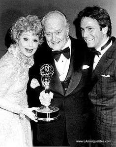 Lucille Ball, Red Skelton, and John Ritter