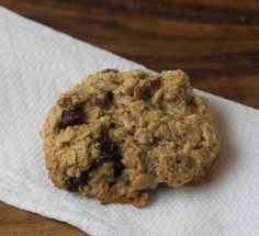 Gluten Free Oatmeal Cookies, Martha Stewart recipe via Cookie Madness.  NO flour of any kind
