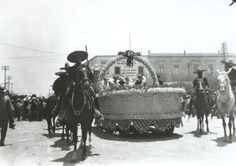 Desfile por la calle 20 de Noviembre