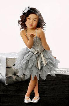 Couture Sequin Tutu Dress