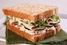 Receita de Sanduíche integral em receitas de paes e lanches, veja essa e outras receitas aqui!