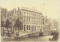 Postoffice Nieuwezijds Voorburgwal in Amsterdam. 1861-03