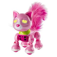 Zoomer Meowzies Arista Robotic Cat by Spin Master, Multicolor