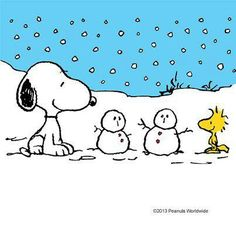 Snoopy & winter