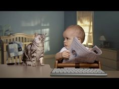 The Best Most Funny 11 E-Trade Cute Baby Commercials Compilation