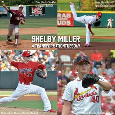 Transformation of Shelby Miller through the Cardinals system.