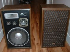 Sansui Sp-X 6700 Speakers Photo - Canuck Audio Mart Stereo Amplifier, Stereo Speakers, Bluetooth Speakers, Monitor Speakers, Bookshelf Speakers, Cool Bookshelves, Hifi Audio, Loudspeaker, Audio Equipment