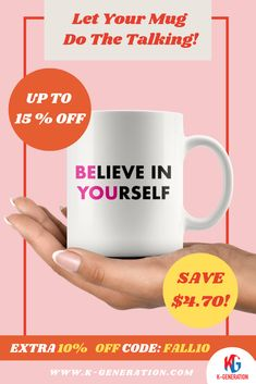 😖Most of us have experienced self-doubt at some point in our lives.  ❣️ Dig deep within yourself to conquer fears & Believe In Yourself in order to become the best person that you can be! 👕 When you have doubts, put on thisT-Shirt and show that self-belief is only belief you need! BE YOU!  ⚠️ SALE ENDS in 24 HOURS!  👆 CLICK LINK TO SHOP👆