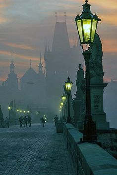 Twilight in Prague. REALLY want to be there this summer
