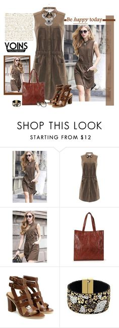 """yoins bag"" by bodangela ❤ liked on Polyvore featuring yoins"