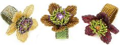 Rings in Motion: Flower Power ©2013 by Cynthia Rutledge