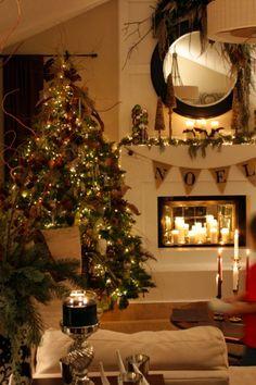 Very Warm living room