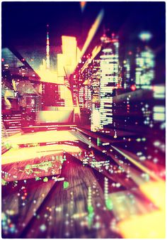 GHOST CITIES / remix by atelier olschinsky , via Behance