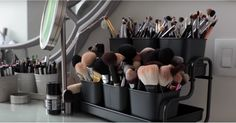 Organize Your Out-of-Control Beauty Collection With This YouTuber's Tips  http://CelebNewsPlus.com